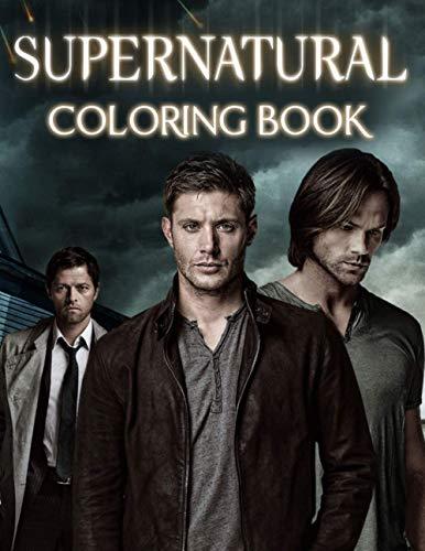 Supernatural Coloring Boo