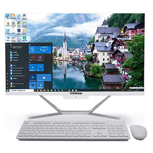 Computadora de Escritorio Todo en uno, computadora de Escritorio i5, DDR4 Core i5 10210U, 8G RAM 256G SSD, Salida HDMI/VGA 4K, WiFi, BT, Windows 10 Pro, Teclado y Mouse inalámbricos