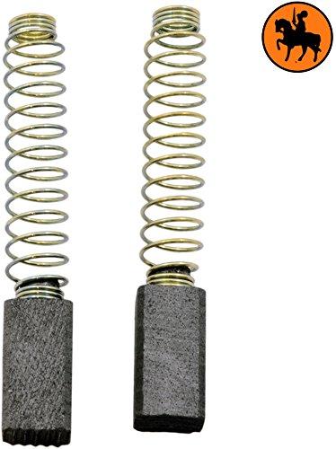 Buildalot universele koolborstels bu_8719468496561 voor Black & Decker & ELU elektrisch gereedschap - 6,3x6,3x13mm - 0,25x0,25x0,51''