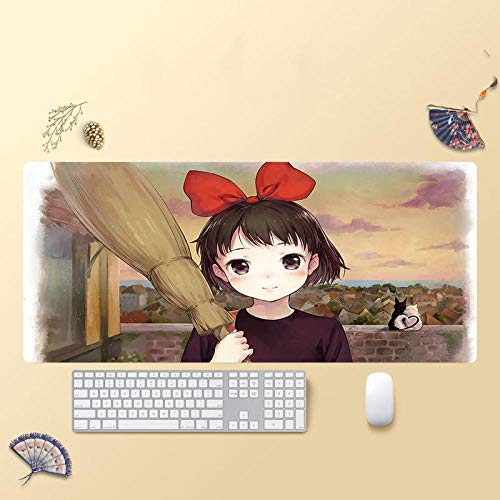 Mouse Mat, Extended Gaming Mouse Pad, Thick Large Nonslip Natural Rubber Base Mousepad Superfine Textured-C 300X700X2MM