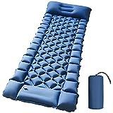 Camping Sleeping Pad - Foot Press Inflatable Lightweight Camping Pad...