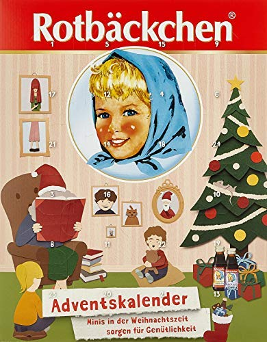 Rotbäckchen Adventskalender, 1er Pack (1 x 3 l)