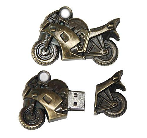 Tomax moto motocicletta oro computer USB/8GB di memoria