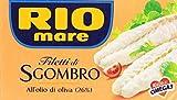 Rio Mare Filetti di Sgombro all' Olio di Oliva 26%, 125g