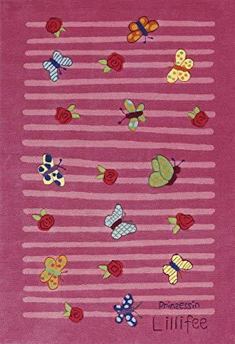 Prinzessin Lillifee Teppich, Pink, 110170cm