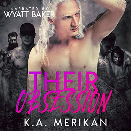 Their Obsession: Dark Gay Harem Contemporary Romance cover art