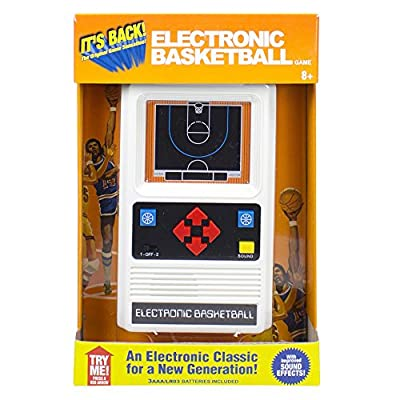 Electronic Retro Sports Game Assortment: Basketball Electronic Games by Basic Fun Inc