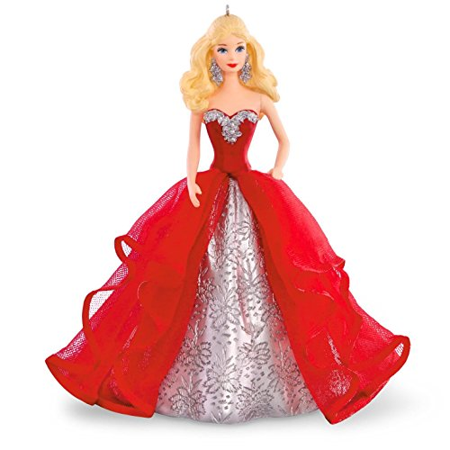 Price comparison product image Hallmark Compatible Barbie Keepsake Ornament 2015 Holiday Collection