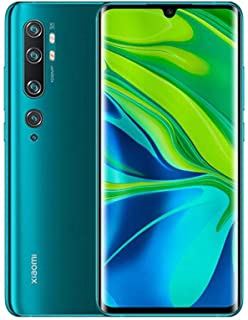 Xiaomi Mi Note 10 Smartphone, Dual Sim, 128GB, 6GB Ram - Aurora Green [Global Version]