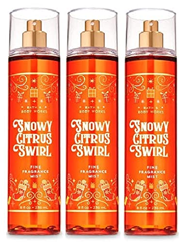 Bath Body Works SNOWY CITRUS SWIRL OFFicial site Value Fragrance Pack Max 72% OFF - Fine