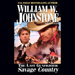 The Savage Country audiobook cover art