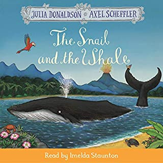 The Snail and the Whale audiobook cover art
