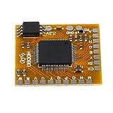Supporto Patata Fritta Scheda USB Per Sony PS2 Metallo - Giallo