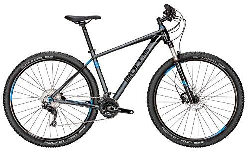 Bulls Mountainbike Modell Copperhead S (2016) - Fahrrad, Bike, 29 Zoll, Shimano Deore XT 22-Gang Schaltwerk, grau-matt/schwarz-matt