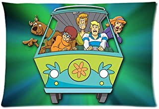 Custom Scooby Doo Two Sides Printed for 20x30 Inch Pillowcases Fashion Pillow Cover