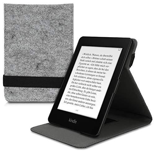 kwmobile Funda Compatible con e-Reader Amazon Kindle Paperwhite - Carcasa de Fieltro para Lector electrónico Fieltro