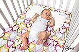 Koala Babycare® Still- und Lagerungskissen aus Memory Schaum, das Baby Kissen gegen Kopfverformung und zur Vorbeugung und Behandlung von Plagiozephalie (Plattkopf) mit abnehmbarem Bezug - Blau