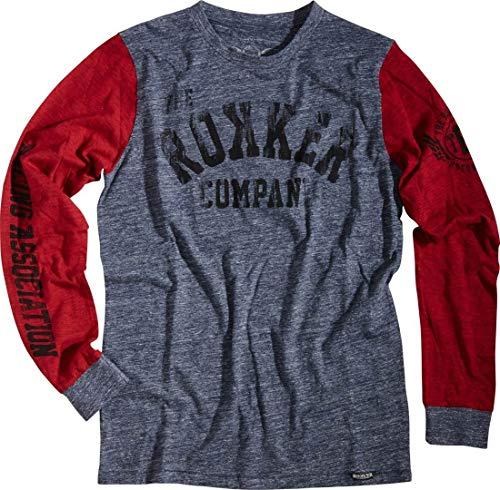 Preisvergleich Produktbild Rokker Team 77 Shirt Blau / Rot M