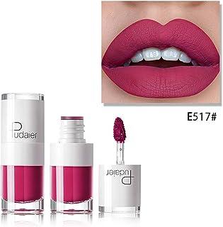 Xiton 1PC Barra de labios mate resistente al agua y dura más tiempo brillo de labios Copa antiadherente líquido del lápiz ...