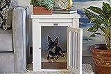 New Age Pet ecoFLEX Pet Crate/End Table, Small, Antique White
