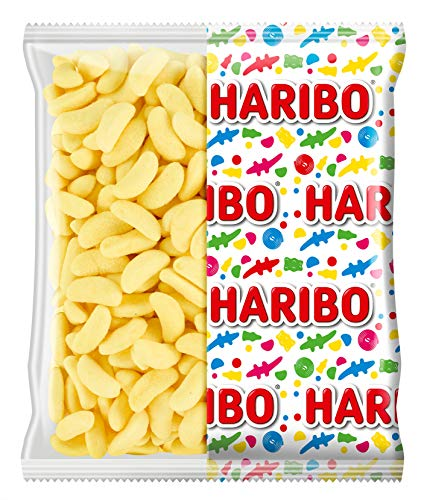 HARIBO - Banans - Bonbons Aromatisés à la Banane - Boîte de 210 Bonbons