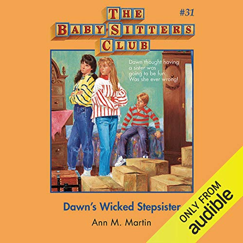 Dawn's Wicked Stepsister audiobook cover art