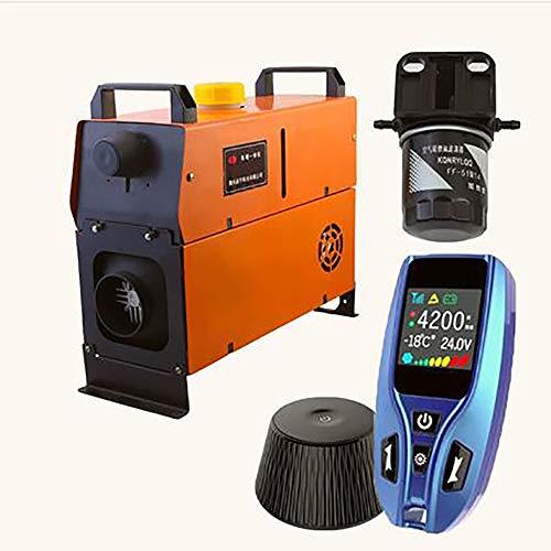 Fantastic Deal! 5kw Diesel Air Heater All in One 12V Diesel Parking Heater 4 Holes Diesel Heater App...