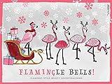 Calendrier de l'Avent contenant 24 produits et accessoires de maquillage de grande qualité un motif de Noël Pink Flamingo produits d'une valeur totale de plus de 75 € Tous les jours une nouvelle surprise beauté