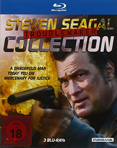 Steven Seagal Troublemaker Collection [Blu-ray]