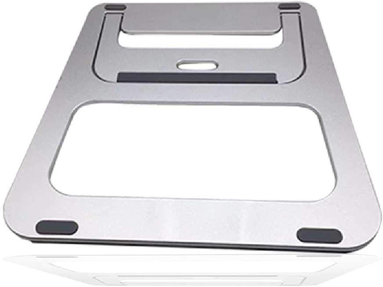 HZSD Computadora portátil Soporte portátil Ventilador Soporte térmico computadora Plana Soporte de aleación de Aluminio