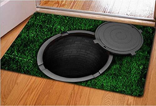NGHXZ tapijt voor badkamer, 3D