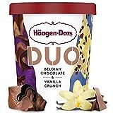 Häagen-Dazs Duo Belgian Chocolate & Vanilla Tarrina, 460ml