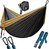 WINNER OUTFITTERS Double Camping Hammock - Lightweight Nylon Portable...