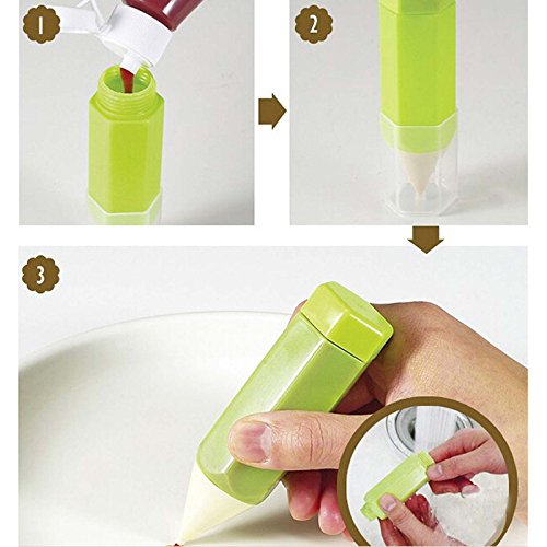 VANKER 3PCs pastel de bricolaje decoración dibujo pastel de galleta galletas para hornear colores del lápiz