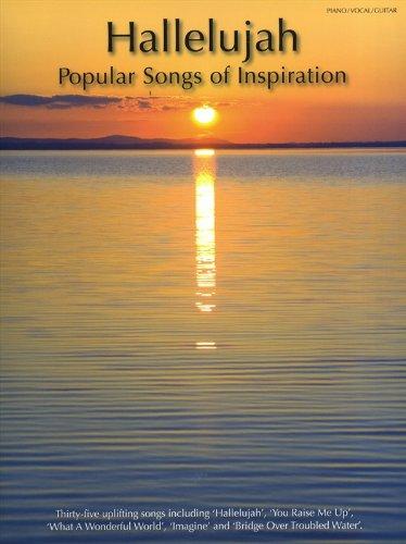 Hallelujah: Popular Songs Of Inspiration: Songbook für Klavier, Gesang, Gitarre (Piano Voice Guitar)