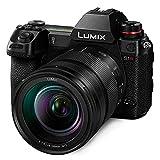 Panasonic LUMIX S1 Full Frame Mirrorless Camera with 24.2MP MOS High Resolution Sensor, 24-105mm F4...