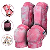 Innovative Soft Kids Knee and Elbow Pads with Bike Gloves - Toddler Protective