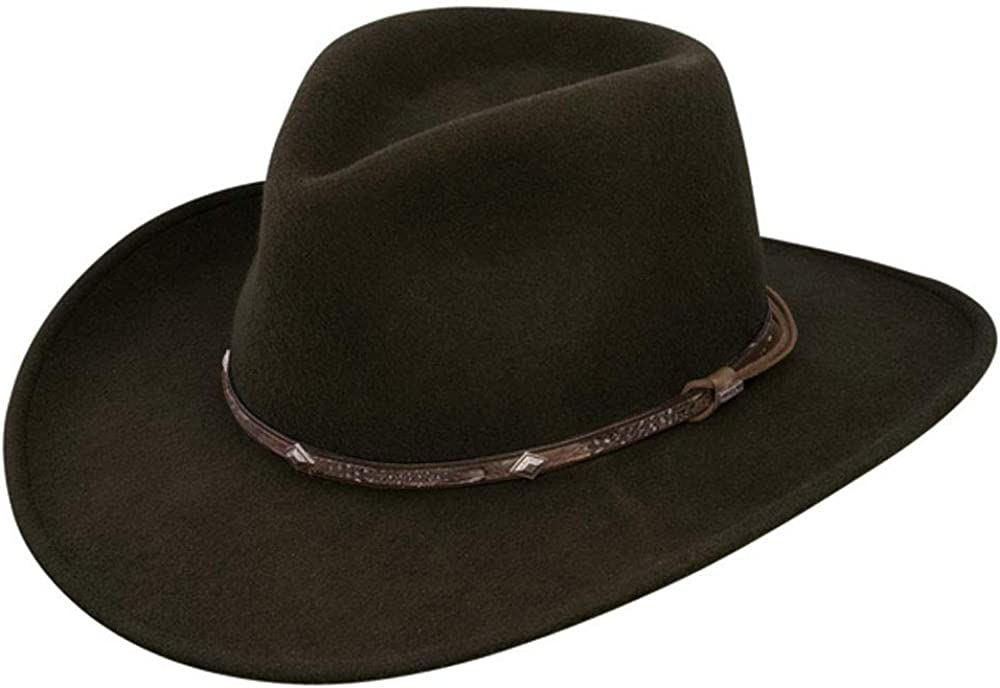 Stetson Men's It is very popular Mountain Sky Crushable New York Mall Hat Wool