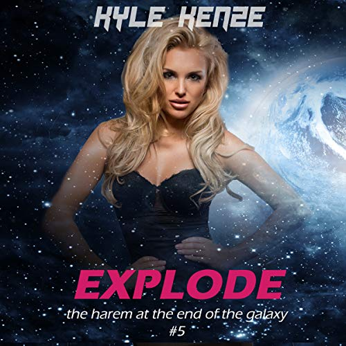 Explode audiobook cover art