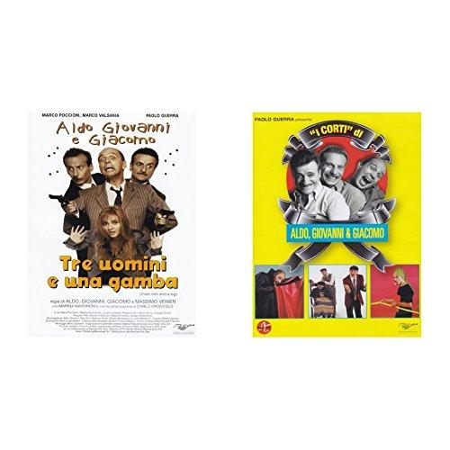 Tre Uomini E Una Gamba + I corti di Aldo, Giovanni e Giacomo (2 Dvd)