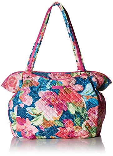 Vera Bradley Women's Signature Cotton Glenna Tote Bag, Superbloom