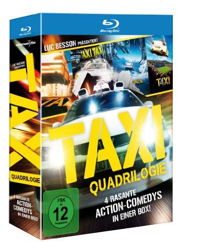 Taxi - Teil 1-4 Box [Alemania] [Blu-ray]...