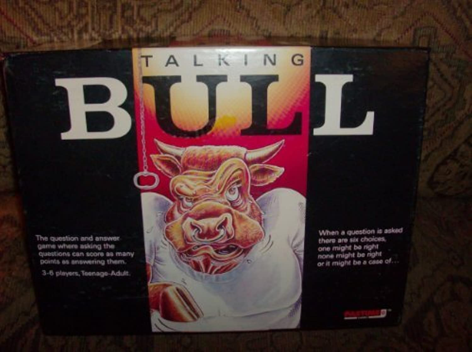 Talking Bull by Pastime Games