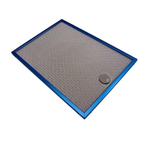 Filtre metal anti graisse (318x234mm) (a l'unite) pour Hotte BRANDT, SAUTER (62935)