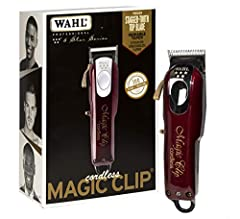 PROFESSIONAL PRECISION: 5-Star Magic Clip is a heavy duty, adjustable 5-Star corded, or cordless commercial grade hair clipper meant for cutting thick hair and is perfect for blending and fades STYLISH AND FUNCTIONAL: The 5-Star Magic Clip features h...