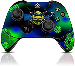 (TMNT) Custom Xbox One Controller with Exclusive Design Vinyl Skin Decal Uniquely Hand Painted and Air-Brushed