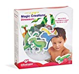 Magic Creations Bath Play Set - Includes Various Colors And Shapes Of Dinasours - Simply Wet And Stick The Foam Pieces To Any Surface And Create Fun Scenery Your Children Will Love