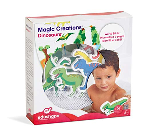 edushape Shaping a wonderful childhood Magic Creation Badespielzeug (Dinosaurie)