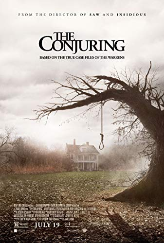 Christ-EZ The Conjuring Wall Movie Poster - Matte poster Frameless Gift 11 x 17 inch(28cm x 43cm)