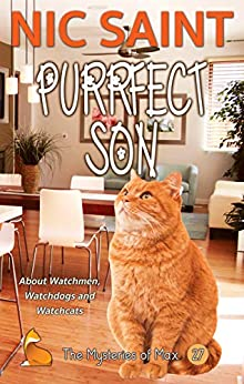 Purrfect Son (The Mysteries of Max Book 27) by [Nic Saint]